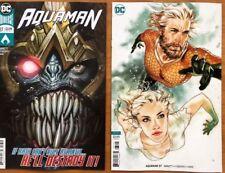 Aquaman 37 A + B Middleton Variant Set 1st Print DC Comics 2018 NM