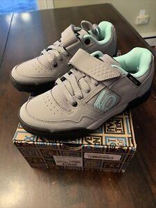 NEW Five Ten Maltese Falcon Granite Cycling Shoe Gray Womens Size 6 NIB