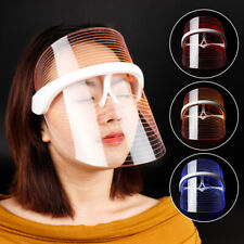 3 Colors Anti-aging Photon Therapy Light  LED Facial Mask For Skin Rejuvenation
