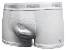 Puma 1 Paquete Ropa Interior Hombre Bóxers Cintura Elástica Blanco y negro