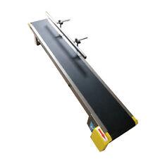 Desktop style: Newest Conveyor/Pvc Belt/110V Electric/59'x 7.8'/Single Fence