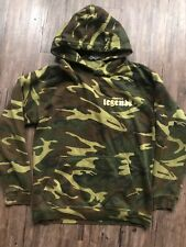 Pink Dolphin Camo Fairfax Legends Mens Size Small Hoodie RARE Camouflage Sweater