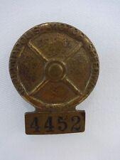 1955 Indianapolis 500 Bronze Pit Badge Bob Sweikert Kurtis Kraft-Offenhauser
