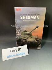 Rye Field Model RFM RM-5042 1/35 U.S. Tank M4A3 76w HVSS Sherman w/Full Interior