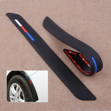 2 stücke Schwarz Silikon Stoßstange Kantenschutz Protector Streifen Aufkleber