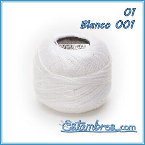 Perle Omega No.8 [10grs] 1/2 - Hilo para Bordar de Calidad Omega