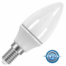 10 x Powersave LED 4.6w = 25w SES E14 2700k Candle Energy Saving Light Bulbs