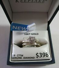 10 K Gold Bridal/Wedding Set