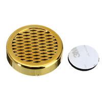 Round Cigar Humidor Humidifier Box Cigar Storage Gold/Black/Silver