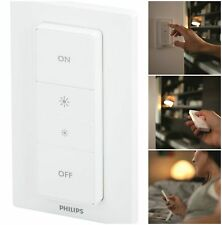 Wireless Smart Switch Hue Dimmer Philips Smart Home Lights Remote Control White