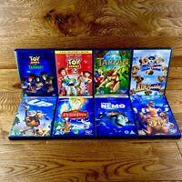 Walt Disney Movie Bundle X8 Family Childrens DVDs Nemo Up Toy Story Tarzan Ect..