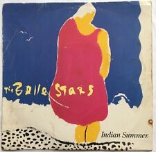 "The Belle Stars - Indian Summer - Stiff Records Picture Sleeve 7"" Single BUY 185"