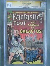 Fantastic Four #48 CGC 9.6 WP SS **Signed Stan Lee** 1st app Silver Surfer