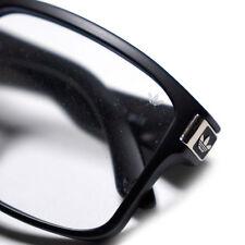 adidas Originals Matt Clear Sunglasses Geek Square Black Specs Eyeglasses Frame