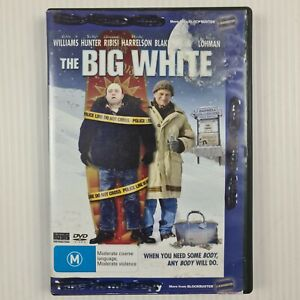 The Big White DVD - Robin Williams, Holly Hunter - R4 - TRACKED POST - Ex Rental