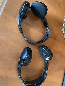 2 USED Saab 97X Headphones 2008 Model
