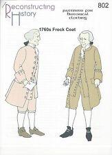 Schnittmuster RH 802 Paper Pattern 1760s Frock Coat