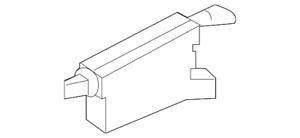 Genuine OEM Fuel Lid Door Opener Actuator For 18-19 Nissan GT-R Infiniti Q70L