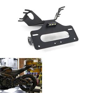 Suzuki GSXR 1000 Fender Eliminator Black Plate 1997-2004+Cruiser Keychain