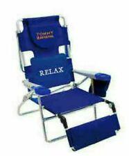 Tommy Bahama deluxe Beach Lounger. Rustproof aluminum Blue