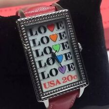 Women's Watch Featuring The Love Stamp -USPS I Love You Collection