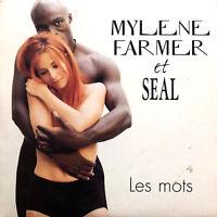 Mylène Farmer Et Seal CD Single Les Mots - France (EX/M)