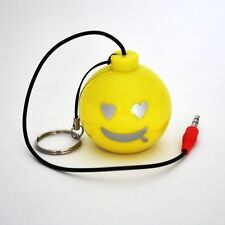 Cute Mini Bomb Speaker 3.5mm  For iPhone 4, 4S/5, iPad, iPod & Cellphone(Yellow)