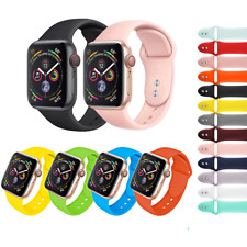 CINTURINO per Apple Watch series 5 4 3 2 1 SPORT RUN SILICONE 44 42 40 38 mm