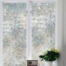 DE Folie Milchglas Fenster Sichtschutz selbstklebend Dekor Fensterfolie Fenster