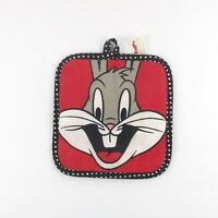 Looney Tunes Bugs Bunny Oven Mitt Pot Holder Barth Dreyfuss Vintage 1993 Red