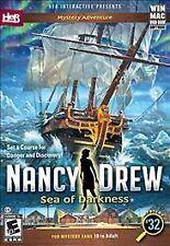 Nancy Drew: Sea of Darkness (Windows/Mac, 2015)