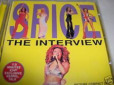 SPICE GIRLS-SPICE GIRLSTHE INTERVIEW UK MINT pop CD