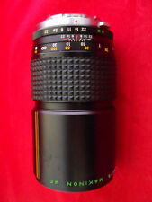 MAKINON 200MM F 3.3 FOR OLYMPUS OM MOUNT MANUAL LENS