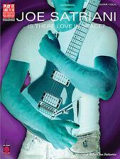 JOE SATRIANI - IS THERE LOVE IN SPACE - GUITAR TAB BOOK