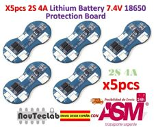 5pcs 2S 4A 7.4V Li-ion Lithium 18650 BMS PCM Battery Protection Board