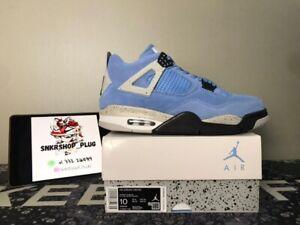 Nike Air Jordan 4 University Blue UNC Tech Grey White Black CT8527-400