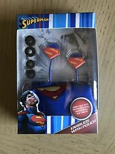 superman earbuds with pouch brand new in packaging