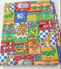 A. E. Nathan Fabrics Jungle Time by Lisa Williams Animals Cotton Fabrics