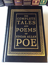 The Complete Tales and Poems of Edgar Allan Poe - leather-bound - Very Good+
