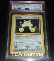 PSA 8 NM-MINT Snorlax 11/64 NO SYMBOL Jungle Set ERROR HOLO Pokemon Card