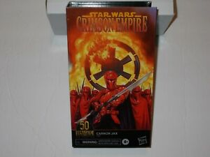Star Wars Crimson Empire Kir Kanos The Black Series Lucasfilm 50th ***IN HAND***