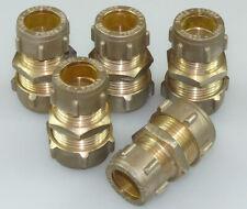 "Kappe Conex Push-Fit 18 mm DZR-Messing /""NEU/"""