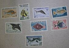 1959 FRENCH SOMALI COAST STAMPS SC #275-282 SET ~ ALL MNH ~ High Quality Hoard