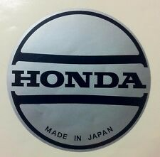 Honda ATC Recoil Decal 200 185 200S 200M Silver Sticker