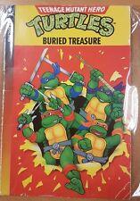 Buried Treasure - Teenage Mutant Hero Turtles Book Yearling Dave Morris