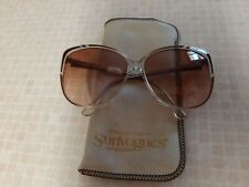Vintage AO Sunvogues Sunglasses w/Case