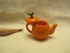 U035 Dollhouse Pumpkin Tea Pot Cute Alice Disney Miniature kitchen re-ment 1:12