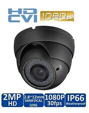 2MP HDCVI Dome  Camera 1080p CVI 2.8-12mm Lens 36IR LED Compatible w/Dahua gray