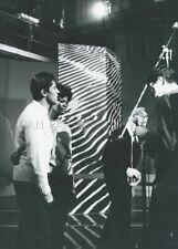 DIONNE WARWICK SACHA DISTEL SHOW  1964 PHOTO  ORIGINAL  ORTF TV