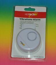 Heitech Erschütterungs-Sensor Alarm mit 110 dB Warnton Vibrations-Alarm Fenster